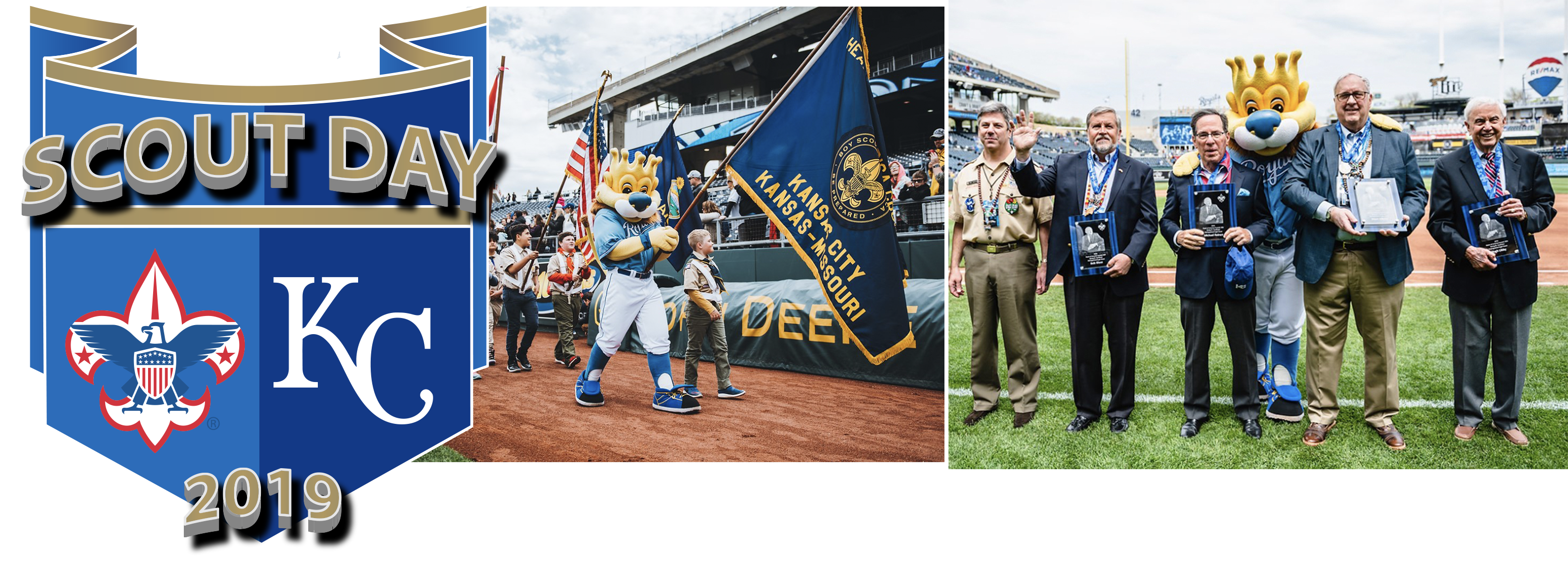 Scout Day at the 'K' — Heart of America Council — Boy Scouts of