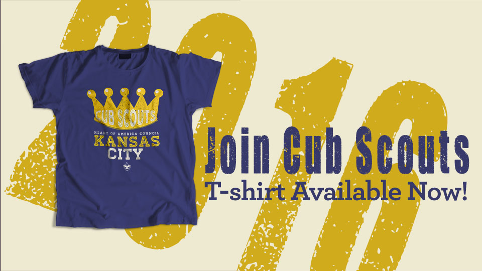 Join Scouting t-shirt