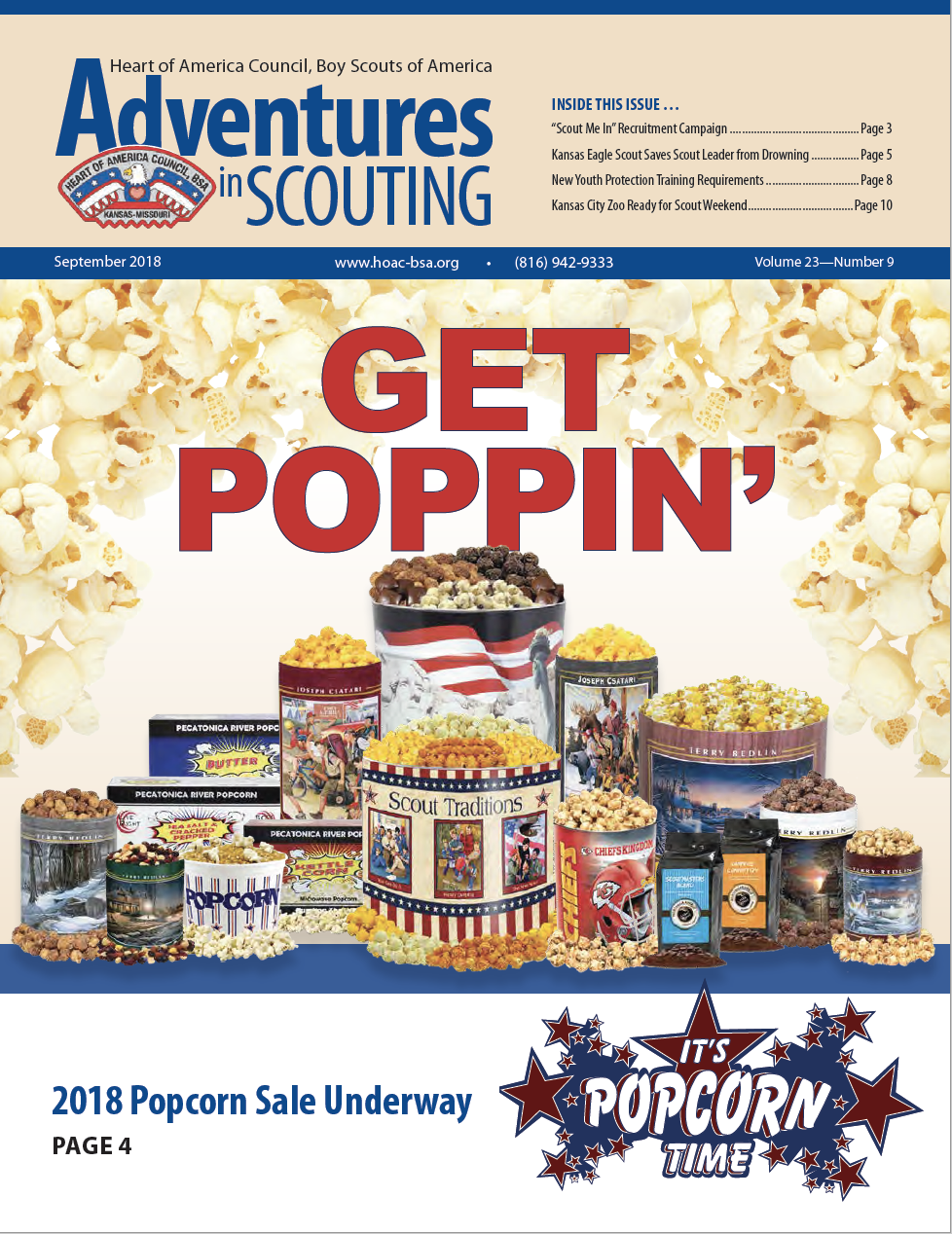 Adventures in Scouting Newsletter