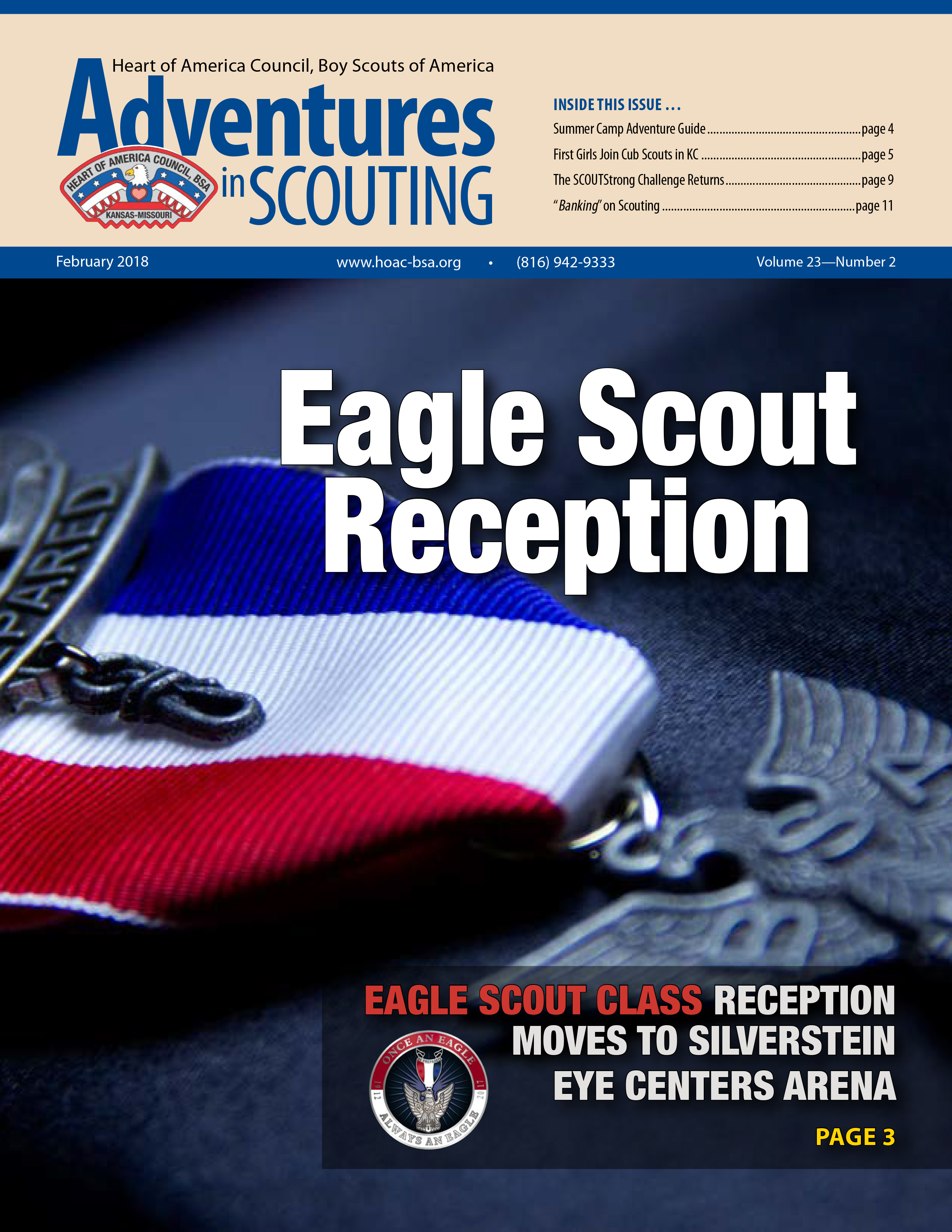 Adventures in  Scouting Newsletter - February