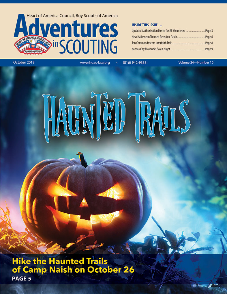 October Adventures in Scouting Newsletter