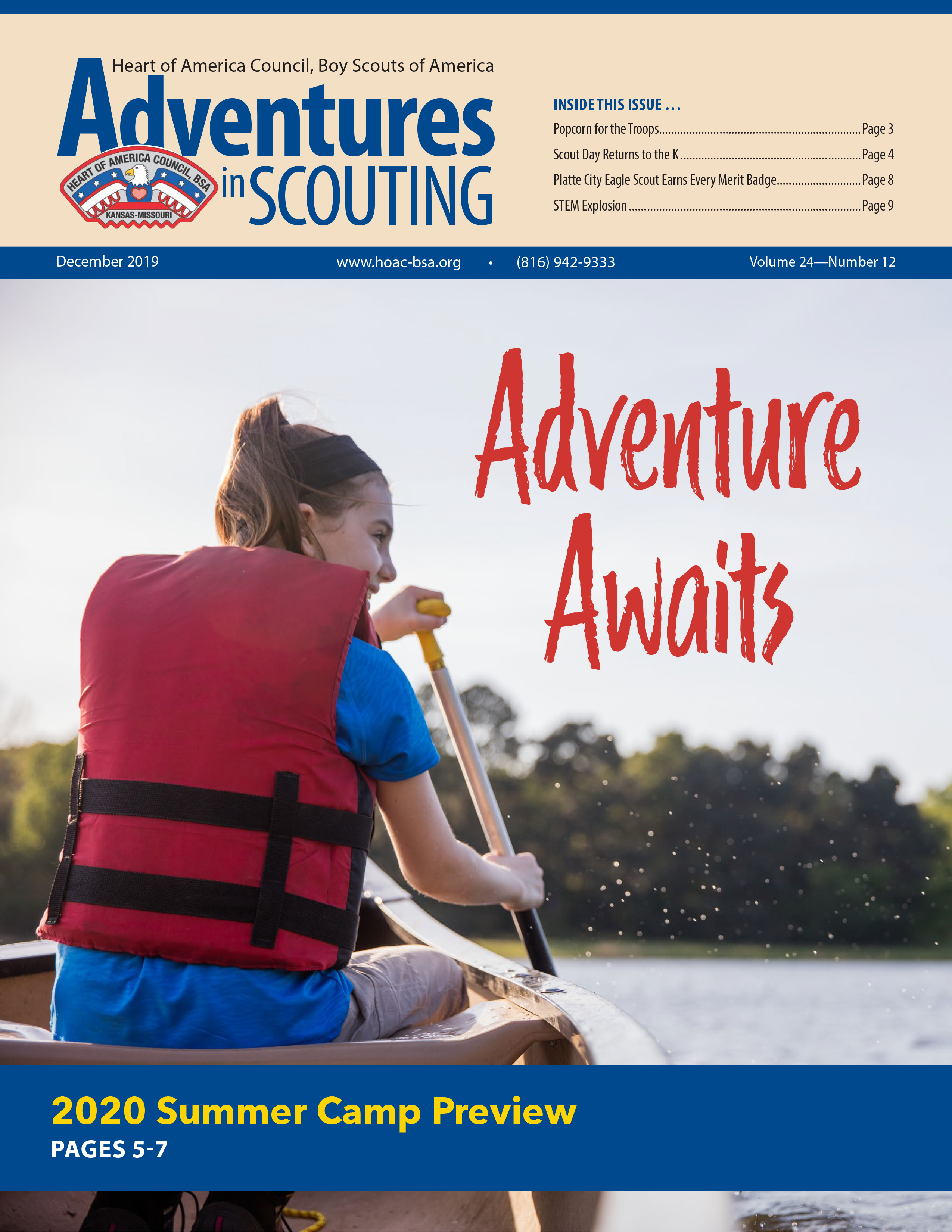December Adventures in Scouting E-News