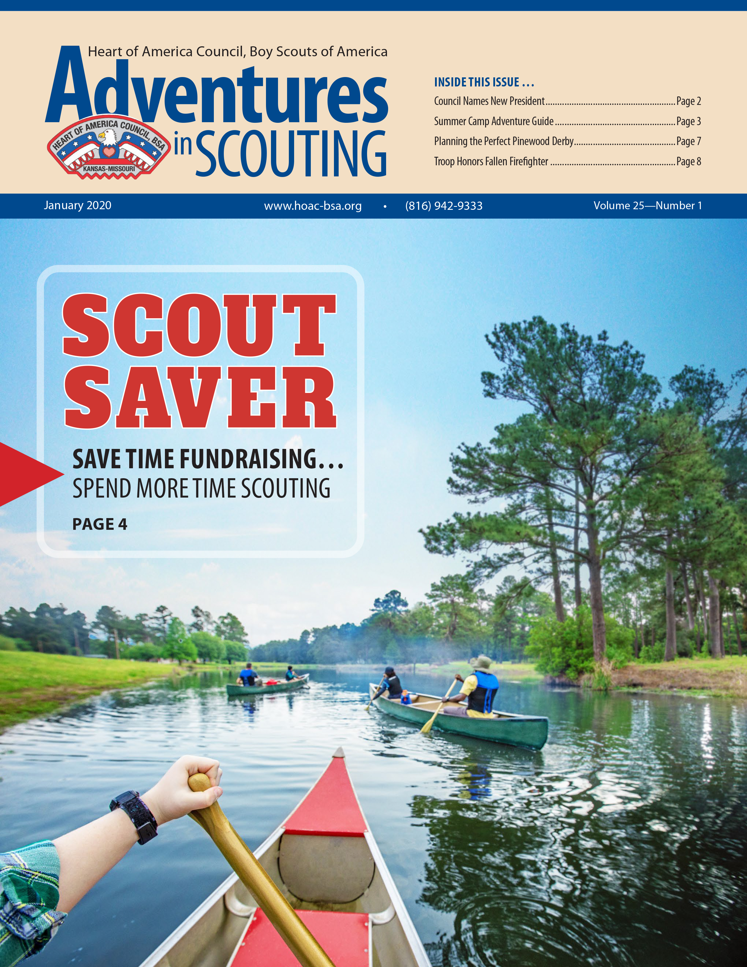 January Adventures in Scouting E-News