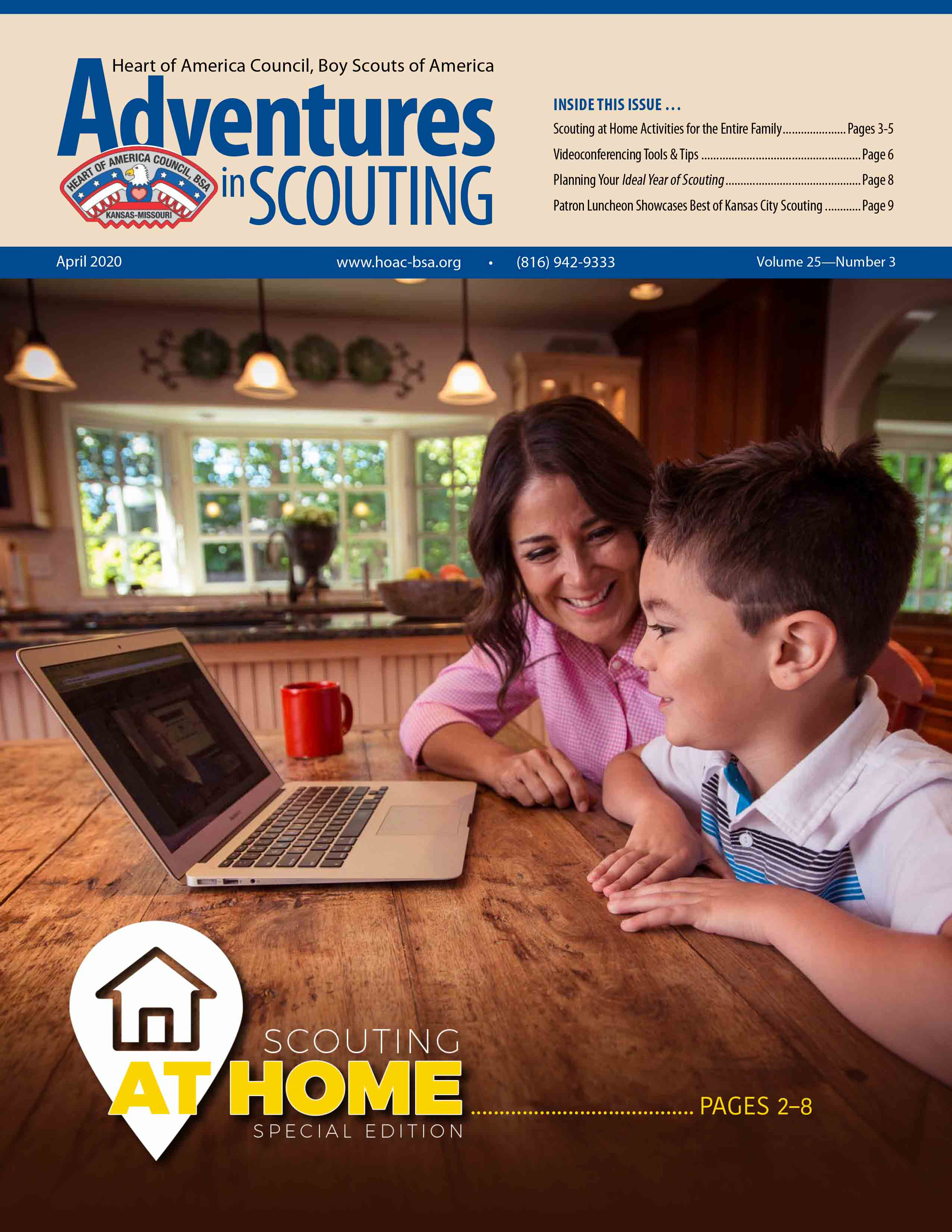 April Adventures in Scouting E-News