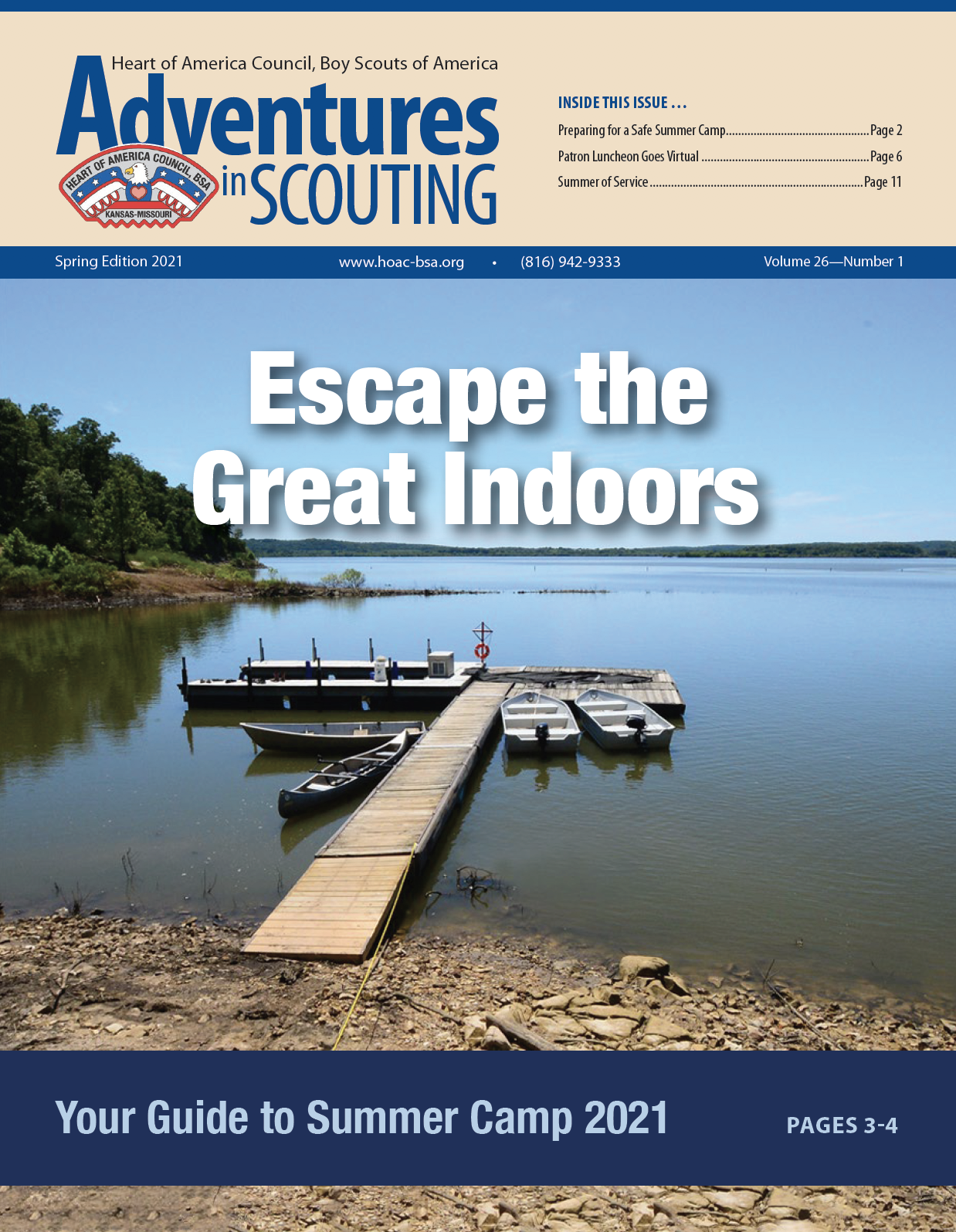 Adventures in Scouting - Spring 2021