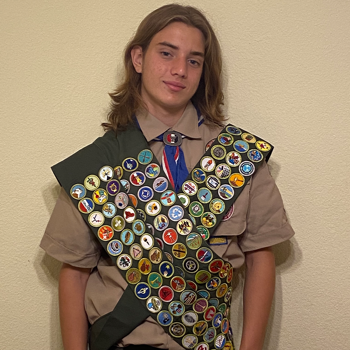 Scout Earns Every Merit Badge